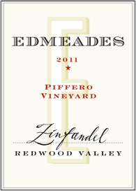 Edmeades 2011 Piffero Vineyard Zinfandel