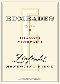 Edmeades 2014 Gianoli Vineyard Zinfandel